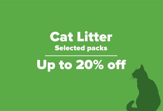 Save on selected Cat Litter