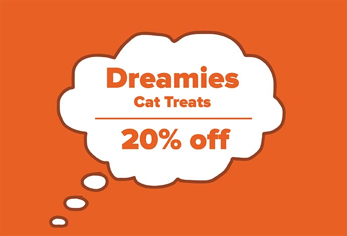 20% off Dreamies