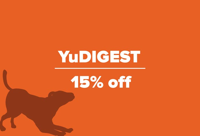 YuDIGEST 15% off during July